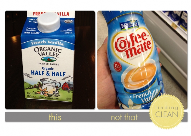 Coffee Creamer | Finding Clean